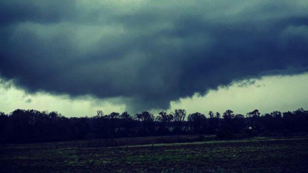 A tornado in Alabama