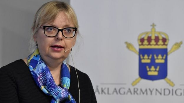 Deputy Director of Public Prosecution Eva-Marie Persson. Photo: 19 November 2019