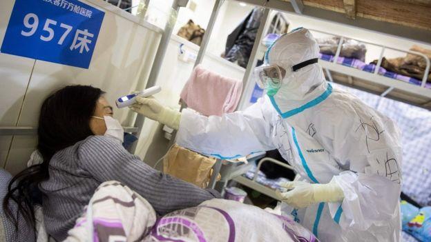 В больнице Уханя
