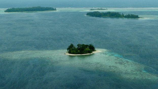 所羅門群島屬美拉尼西亞群島