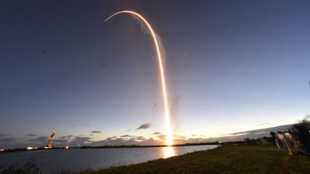 The Boeing CST-100 Starliner spacecraft, atop an ULA Atlas V rocket, lifts off on an uncrewed Orbital Flight Test to the International Space Station from launch complex 40 at the Cape Canaveral Air Force Station in Cape Canaveral, Florida