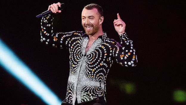 Sam Smith at the 2019 Brit Awards