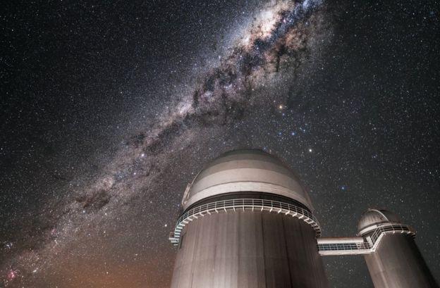 El telescopio de La Silla Foto: ESO/A. Ghizzi Panizza
