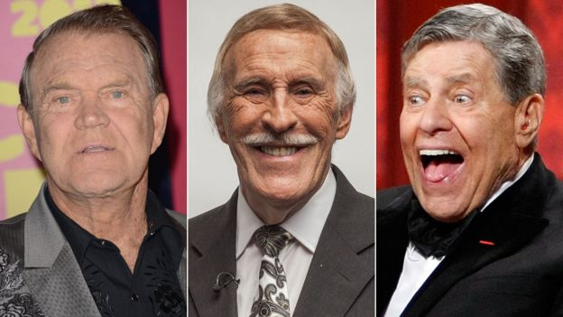 Glen Campbell, Bruce Forsyth and Jerry Lewis