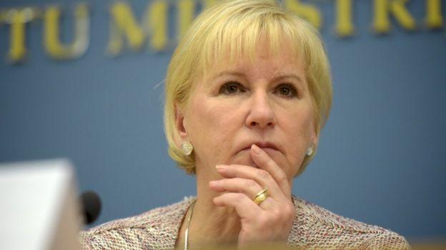 Bộ Ngoại giao Thụy Điển nói bà Wallström