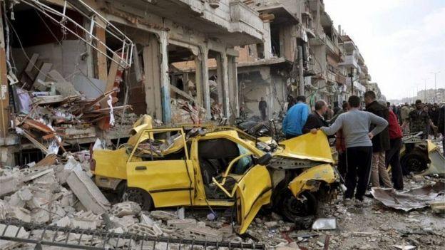 فوضى في سوريا