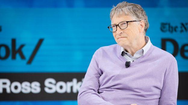Bill Gates, former CEO of Microsoft