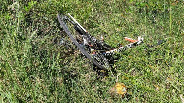 La bicicleta de Nicky Hayden