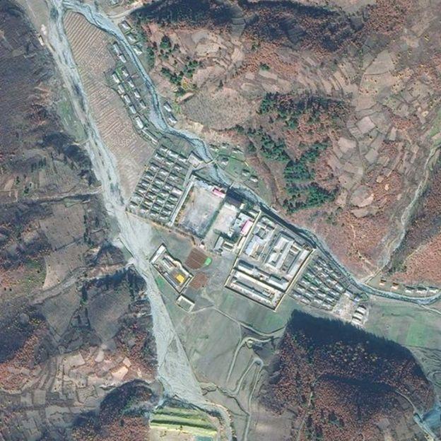 Centro de detenci�n de Onsong, en el extremo norte de Corea del Norte