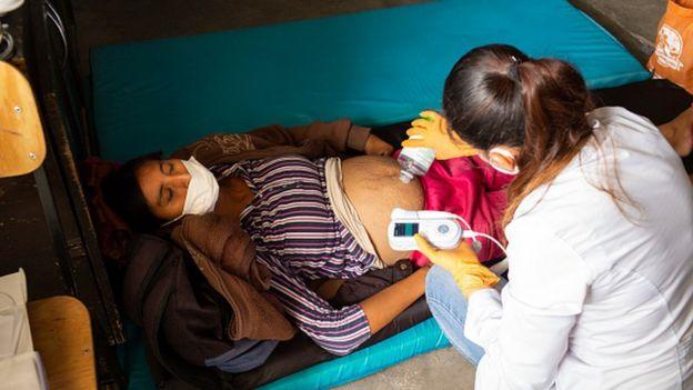 Беременная в Мексике