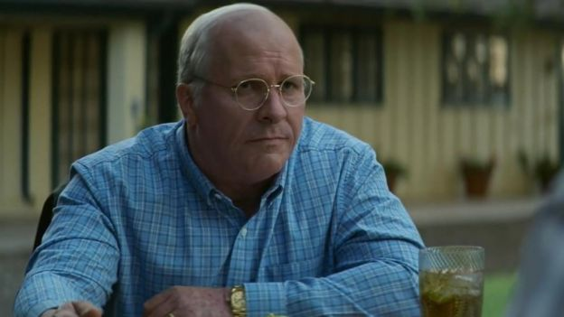 Christian Bale como Dick Cheney