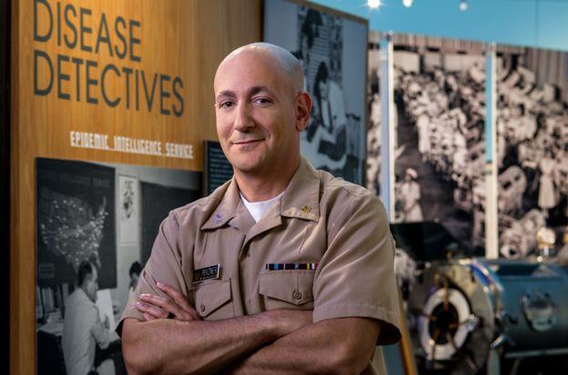 O chefe do Serviço de Inteligência Epidêmica (EIS, na sigla em inglês) do CDC, Eric Pevzner