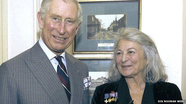 Prince Charles and Tania Szabo,