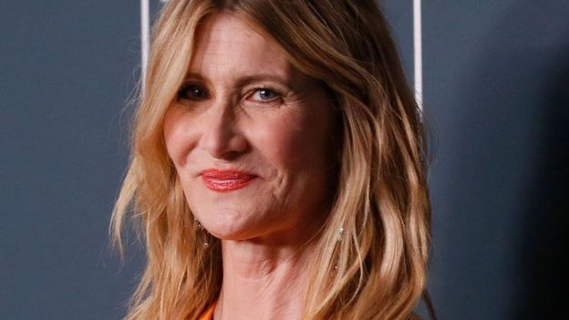 "Laura Dern fue reconocida con un Golden Globe y un Critics Choice Award por su trabajo en ""Marriage Story""."