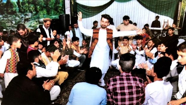 Image of a wedding in Kabul