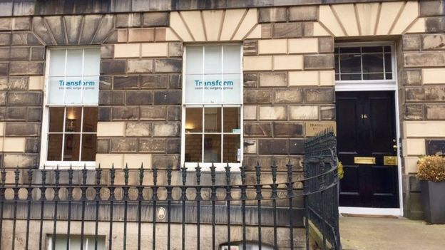 Transform's Edinburgh clinic