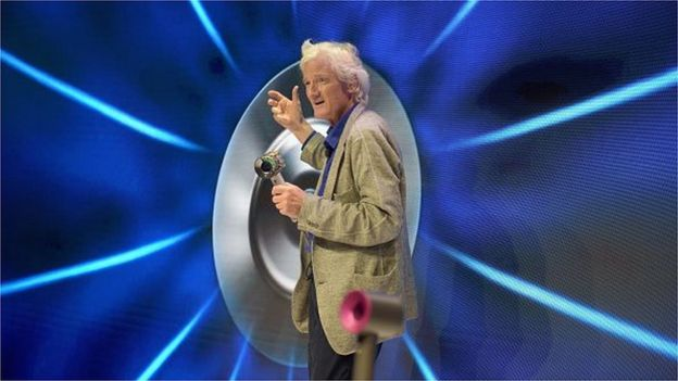 Sir James Dyson launching the Dyson Supersonic Hair Dryer