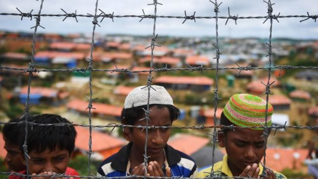 Рохинджа в лагерях