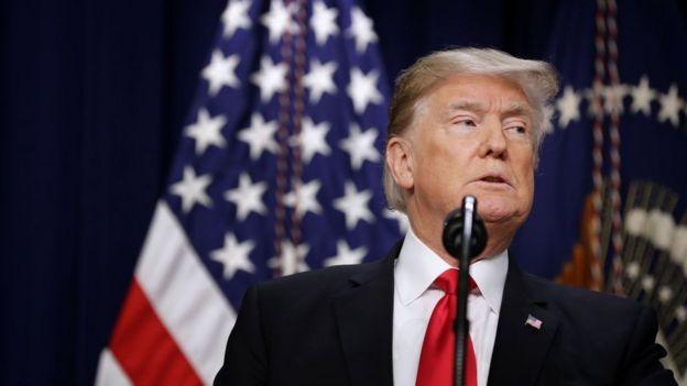 Trump signing a farm bill on Thursday