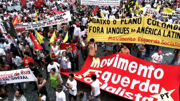 Porto Alegre'deki gösteriler