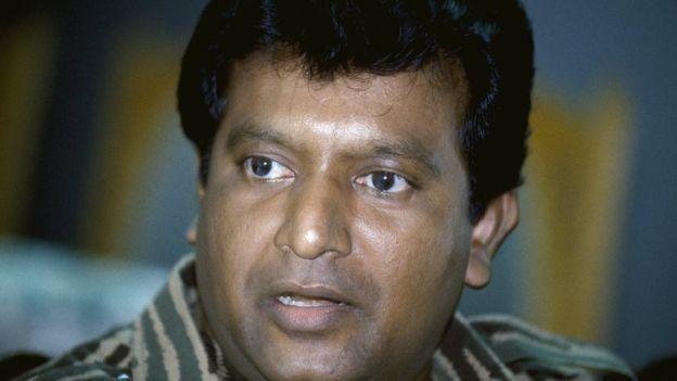 தமிழீழ விடுதலை புலிகள் அமை்பபின் தலைவர் வேலுபிள்ளை பிரபாகரன்