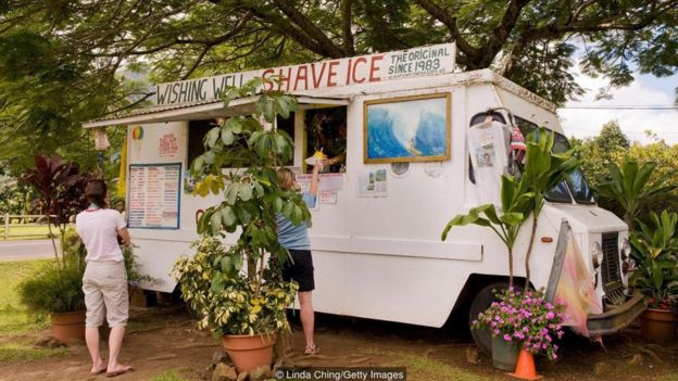 Food truck havaiano
