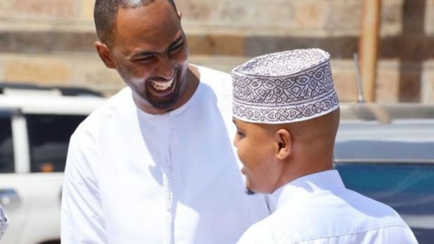 Abdalla Dahir (L) and Feisal Ahmed (R)