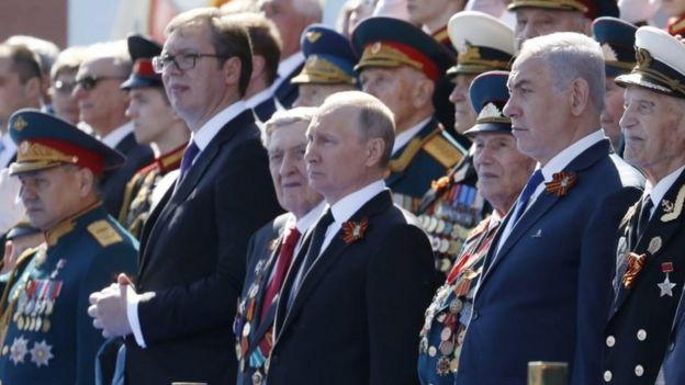 Vladimir Putin y Benjamin Netanyahu