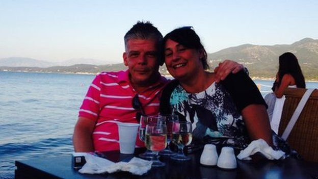 Scott Chalkley and Sue Davey