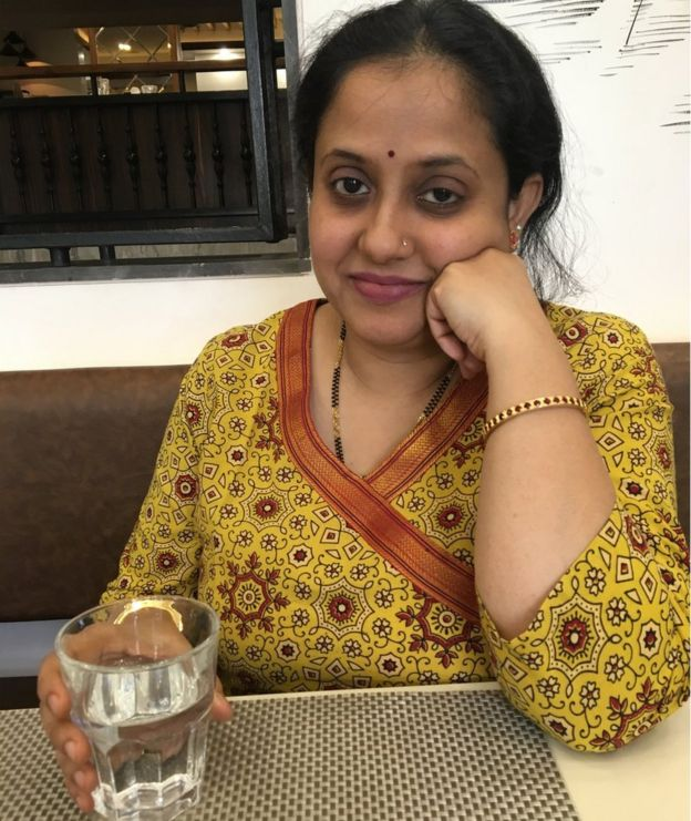 Gauripuja Mangeshkar was served half a glass of water at a restaurant in Pune