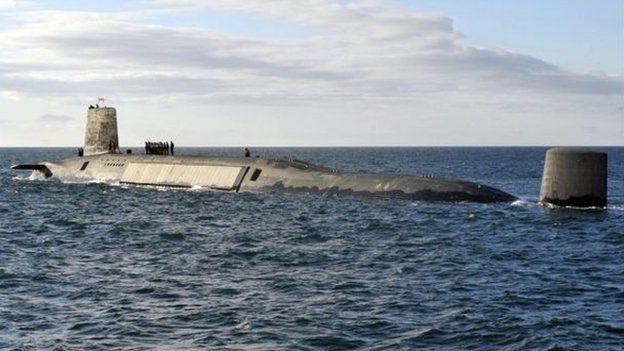 Một trong 4 tàu ngầm có vũ khí hạt nhân của Anh