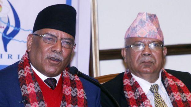 Prachanda and Nepal