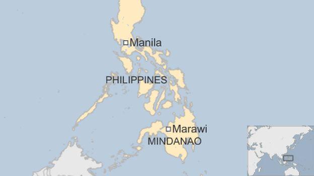 Marawi Philippines map