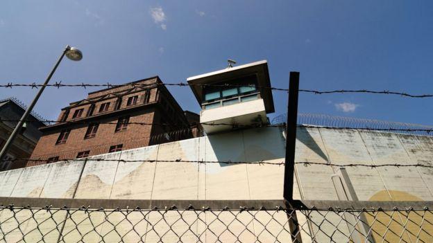Prisão na cidade de Hamburgo