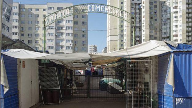 Рынок в Тирасполе, Молдова