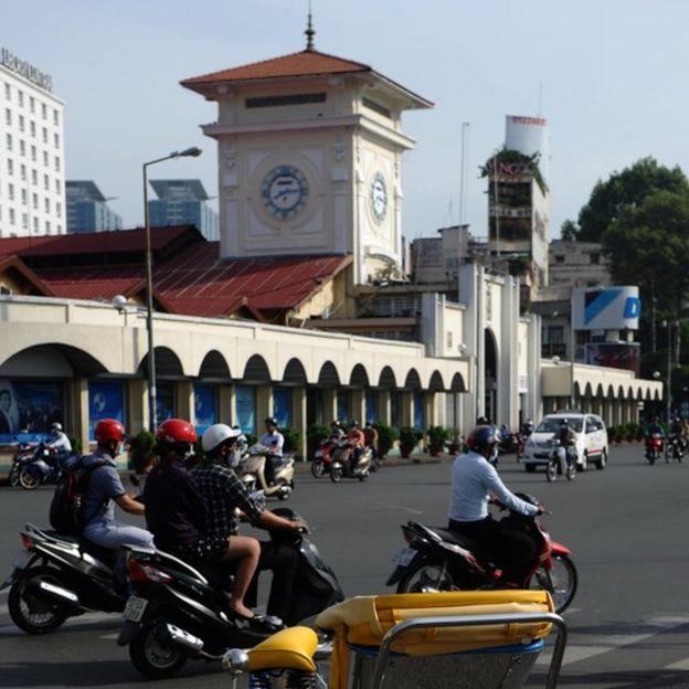 Khu vực chợ Bến Thành, TP Hồ Chí Minh