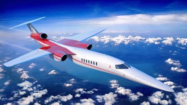 Ilustração de um Aerion's AS2