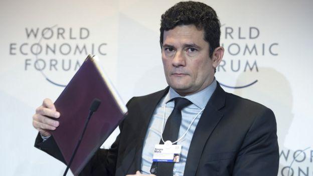 Sergio Moro participa de painel no Fórum Econômico Mundial em 22 de janeiro