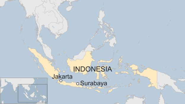 Ramani ya taifa la Indonesia