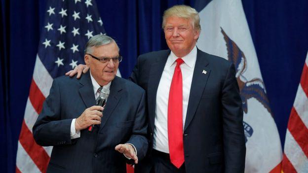 ترامپ و جو آرپایو