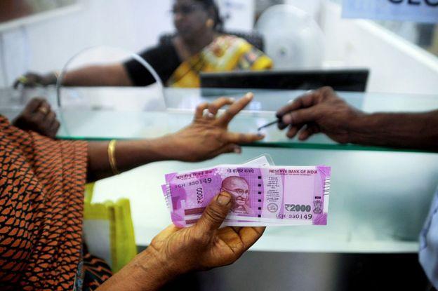 Banco en India.