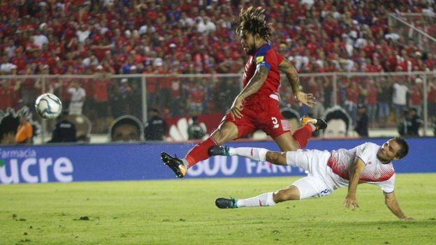 رومان توريس لاعب منتخب بنما AFP/Getty images
