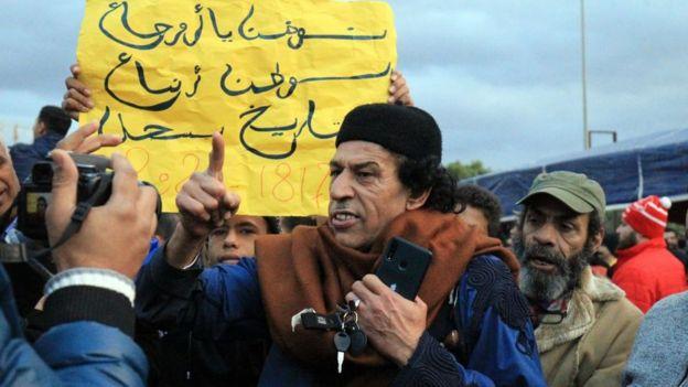 متظاهرون ليبيون في بنغازي ينددون بإرسال تركيا قوات إلى بلادهم