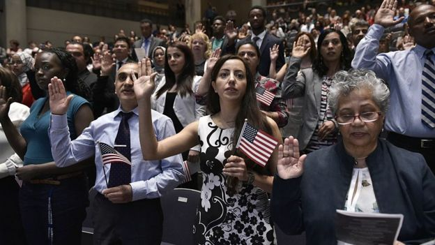 How hard is it to pass the US citizenship test? - BBC News