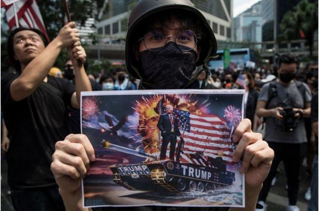 香港示威者为何希望美国会通过人权民主法案
