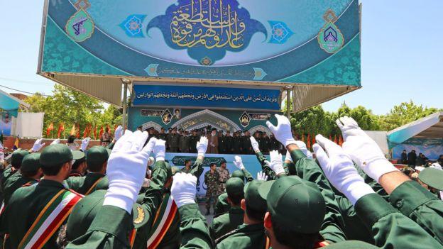 سخنرانی آیت الله خامنهای در دانشگاه امام حسین