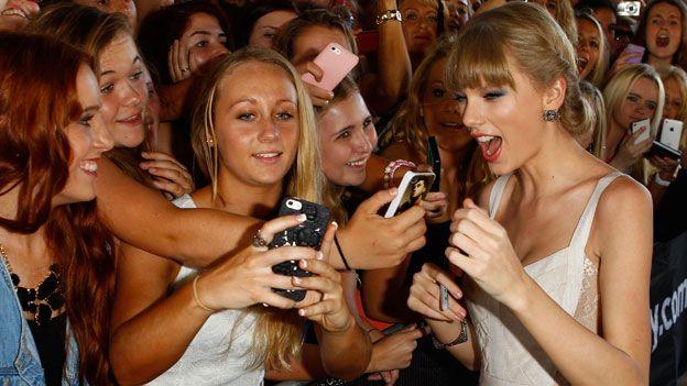 Taylor Swift in 2012