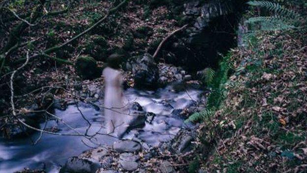 Cafodd y llun yma ei dynnu ger Afon Ystwyth yng nghanolbarth Cymru