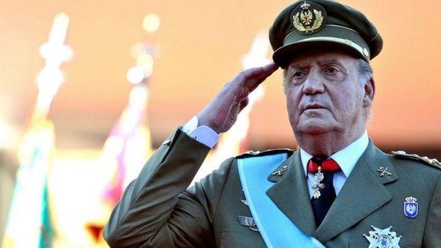Бывший король Хуан Карлос