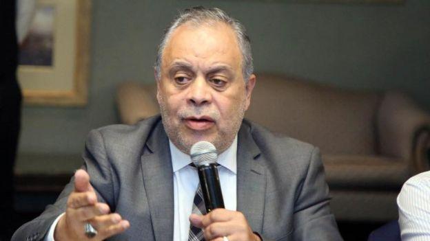 نقيب الممصلين أشرف زكي